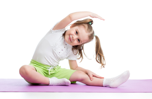 Kids flexibility stretching