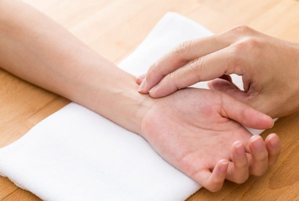Chinese therapy for diagnose pulse of patient